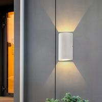 Outdoor Waterproof Wall Lamp Up Down Wall Light Aluminum Wall Lights Porch Garden Aside Hotel Lighting Indoor Wall Sconce BL51