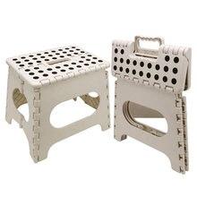 Складной стул для путешествий кемпинга пластиковый переносной