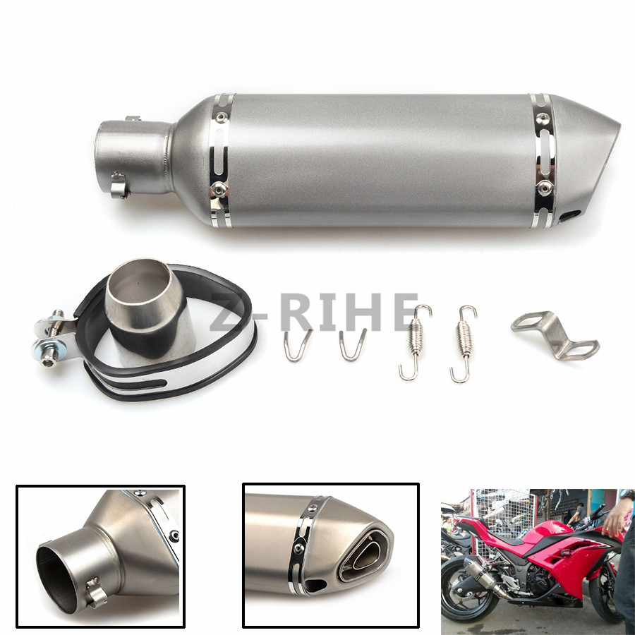 for Universal 36-51mm z800 z900 exhaust Motorcycle escape Modified Scooter Exhaust Muffle for yamaha suzuki kawasaki ktm bmw yam