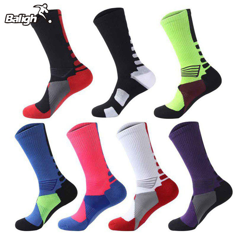 Men Women Boy Long Socks Warm Football Socks Basketball Sports Anti Slip Cycling Climbing Running Socks