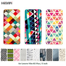 Soft TPU Case for Lenovo Vibe K5 Plus Silicone Cover Back Phone Cases Square Printed for A6020 / A6020a46 / Lemon 3 Shell(China)
