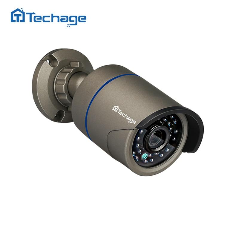 Techage 2.0MP HD Sicherheit CCTV IP Kamera IR Outdoor IP66 Wasserdichte 720 p 960 p 1080 p P2P Onvif Video überwachung IP Kamera