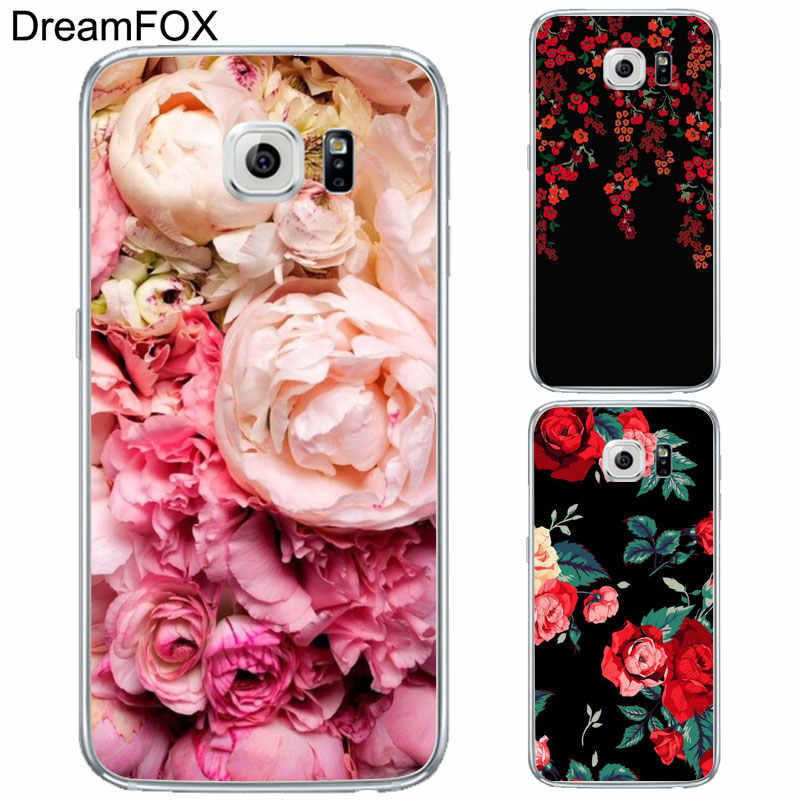 DREAMFOX L222 пион Sunflowe Мягкие TPU силиконовый чехол для samsung Galaxy Note S 5 6 7 8 9 10 10e Lite Edge Plus Grand Prime