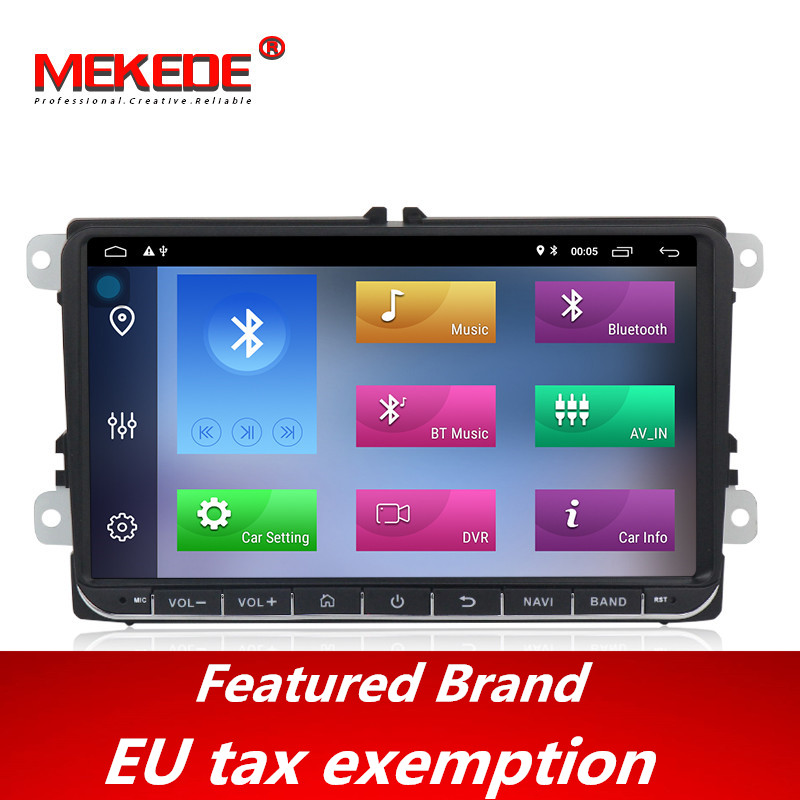 Free shipping!<font><b>android</b></font> 9.1 <font><b>Car</b></font> <font><b>radio</b></font> GPS Navigation for VW Skoda Octavia <font><b>golf</b></font> 5 <font><b>6</b></font> touran passat B6 jetta polo tiguan 8 cores navi image