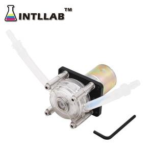 Image 2 - INTLLAB DIY Peristaltic Pump Dosing Pump 12V DC, High Flowrate for Aquarium Lab Analytical