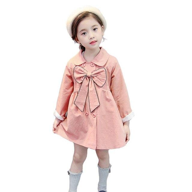 7fa18cd7b Spring Autumn Jackets Girls Coat 2019 Brand Children Jackets Kids ...