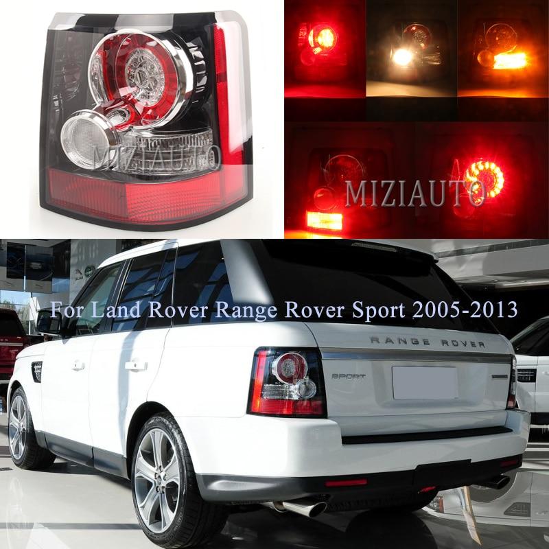 Задний фонарь для Land Rover Range Rover Sport 2005 2013 предупреждающий фонарь задний фонарь ABS автомобильный Стайлинг задний тормоз противотуманная Drl лам