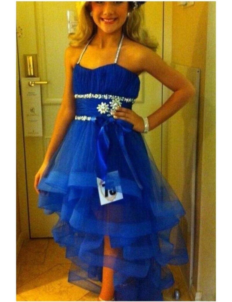 Blue Graduation Dresses For 8th Grade Divine Design Formal Wear