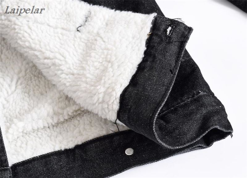 Velours Manteau Hiver Mâle Col Veste Laipelar Fourrure Mode Noir Plus Denim Loisirs Hommes De Bomber O4WPB55wqc