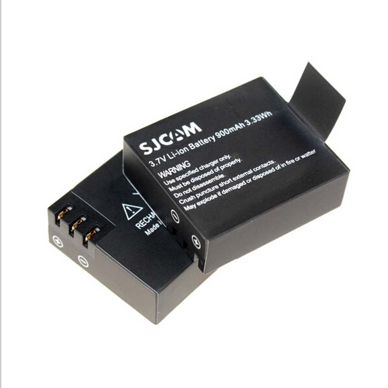 1100mAh NEW updated  3.7V Li-ion battery for SJCAM SJ4000 SJ6000 Sports Camera