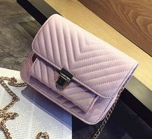 Lovely lock multi-layer chain shoulder bag, spring and summer new candy color small square bag,women lady girls bags
