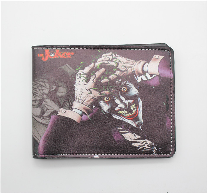 Cartoon Dc Comics The Joker Batman Movie Coin Pocket Pu Purse Wallet In Wallets From Luggage Bags On Aliexpress Alibaba Group