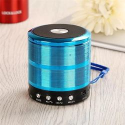 wirelesss WS-887 receiver Hands-free Music Player metal Bluetooth speaker For iPhone xiaomi Oppo and PC