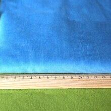 Sky blue baumwolle stoff zum Nähen tuch cord stoffe gewebe heimtextilien telas tecido hosen kleidung kissen diy stoff