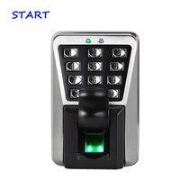 ZK MA500 Biometric Security System Biometric Fingerprint And Rfid Card Access Control Waterproof kepad Door Security