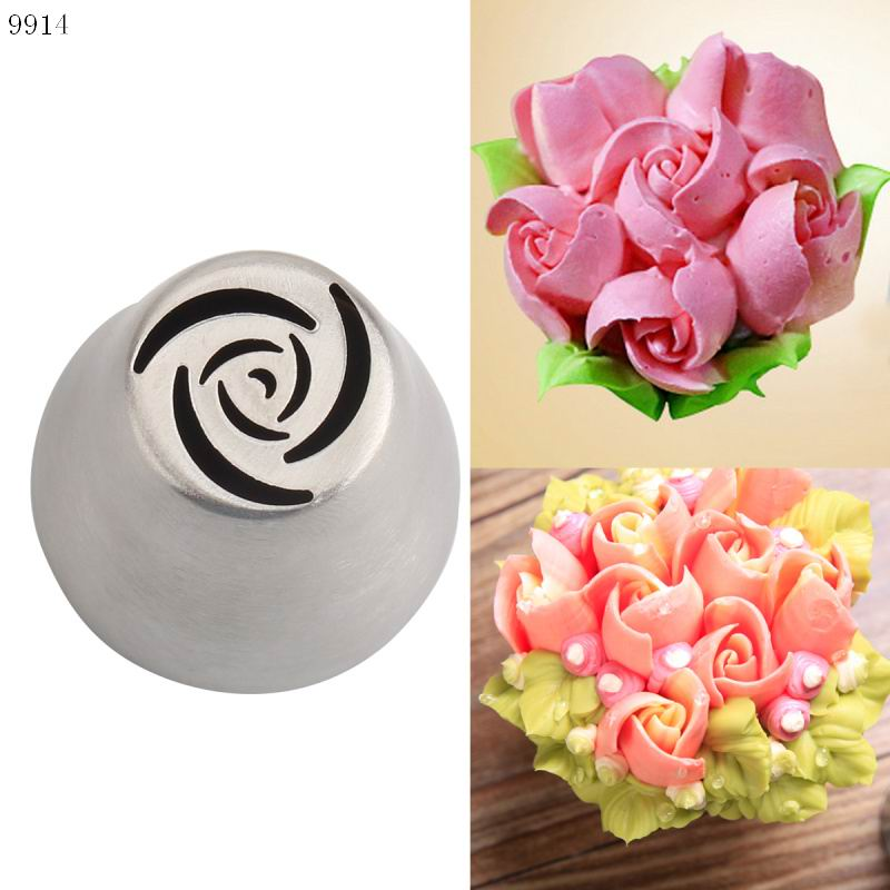 Stainless Steel Icing Piping Nozzles Pastry Tips Fondant Sugarcrafts Home Kitchen Cakes Decorating Tools DIY Cake Mold Mould