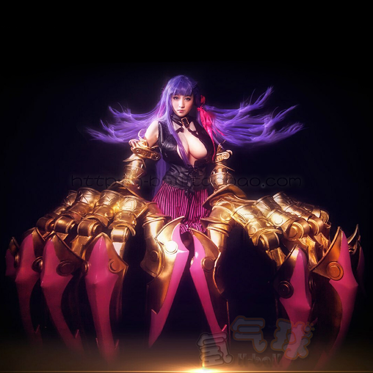 Passionlip Fate/Grand Order Cosplay FGO Passionlip cosplay costume custom made top shorts 1