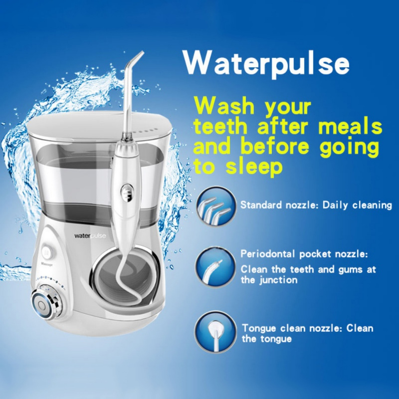 Professional Oral Hygiene Toothbrush Teeth Clean Irrigator Electric Machine Dental Dental Teeth Care Tools US/EU/UK Plug pro teeth whitening oral irrigator electric teeth cleaning machine irrigador dental water flosser teeth care tools m2