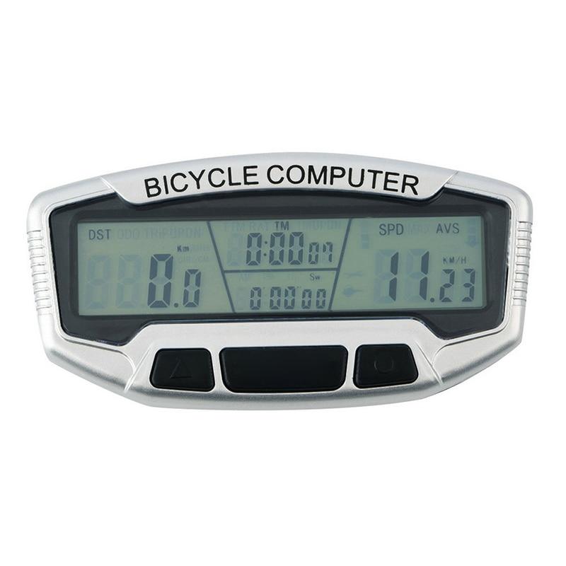 Bike Computer luminated screen Bicycle Computer Stopwatch Cycling Speedometer waterproof bicycle computer