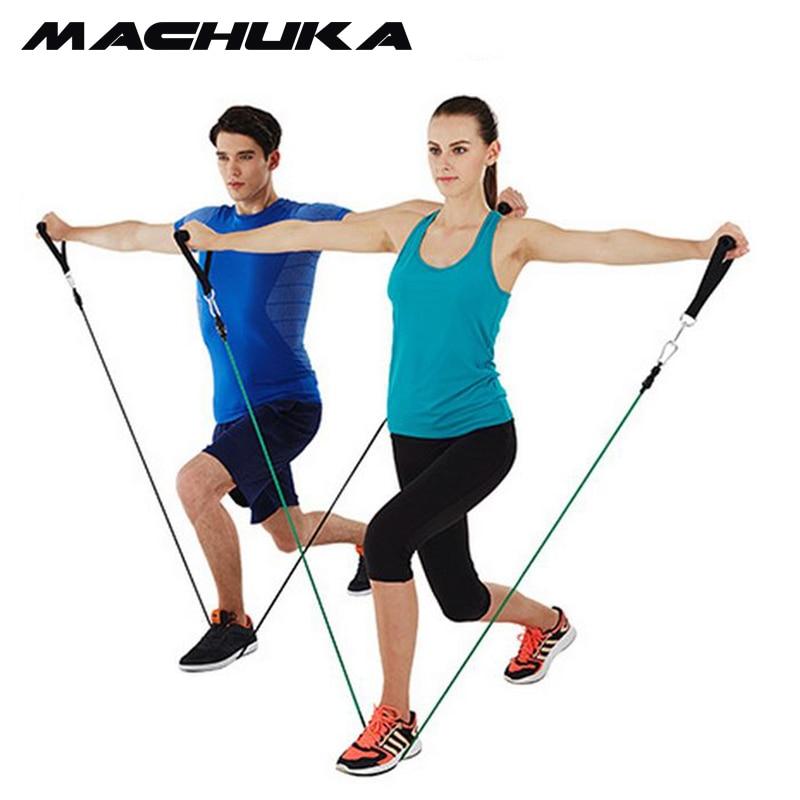 MACHUKA Weight Loss Fitness Latex Resistance Bands Workout