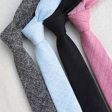 Slim Tie Paisley Gravatas-Accessories Neck-Tie Corbatas Fashion-Design Cotton XGVOKH