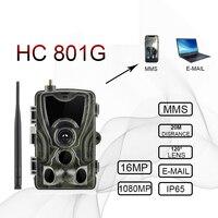 Skatolly hc 801a HC801M HC 801G 3G 4G Hunting Camera 16MP Trail Camera MMS Photo Traps hunter Wild Camera Chasse gsm camera