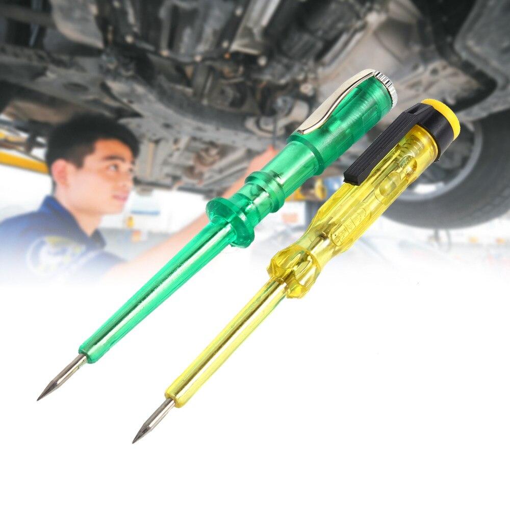 Авто автомобиль цепи Тесты er Тесты карандашом DC 6 В 12 В 24 В лампочки Напряжение
