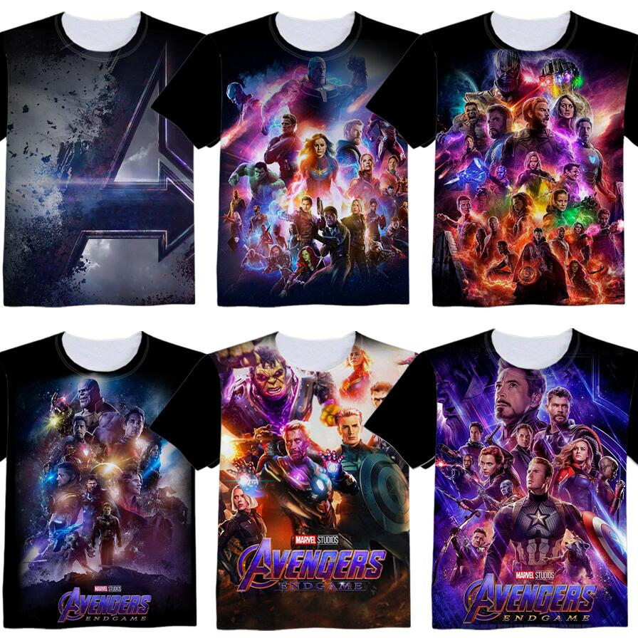 Anime Movie Avengers 4 Endgame Woman Man Cartoon Lovely Printing Custom Made T-shirt Tees Christmas Gift Fancy Fashion Cool
