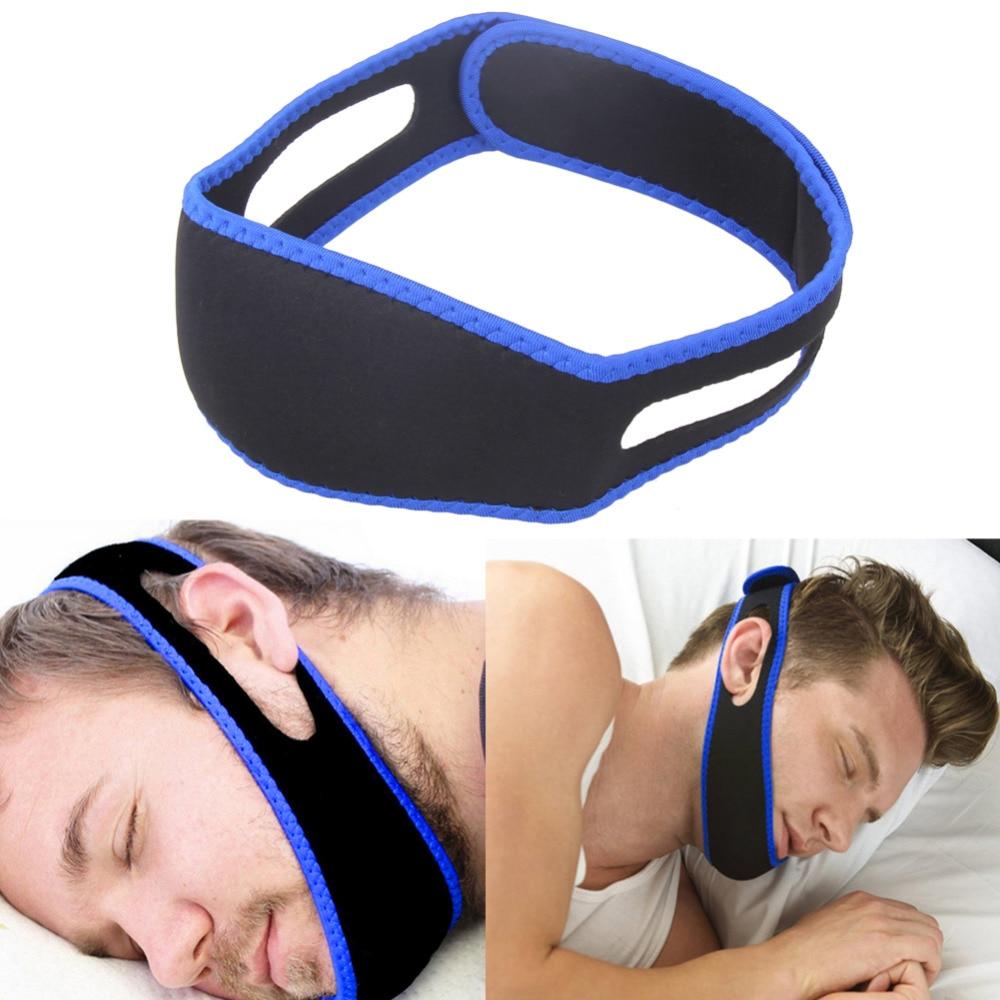 Cinturón de ronquidos Detener ronquidos Apnea del sueño Chin Jaw Correa de soporte para mujer Hombre Cuidado Herramientas para dormir Profesional de salud