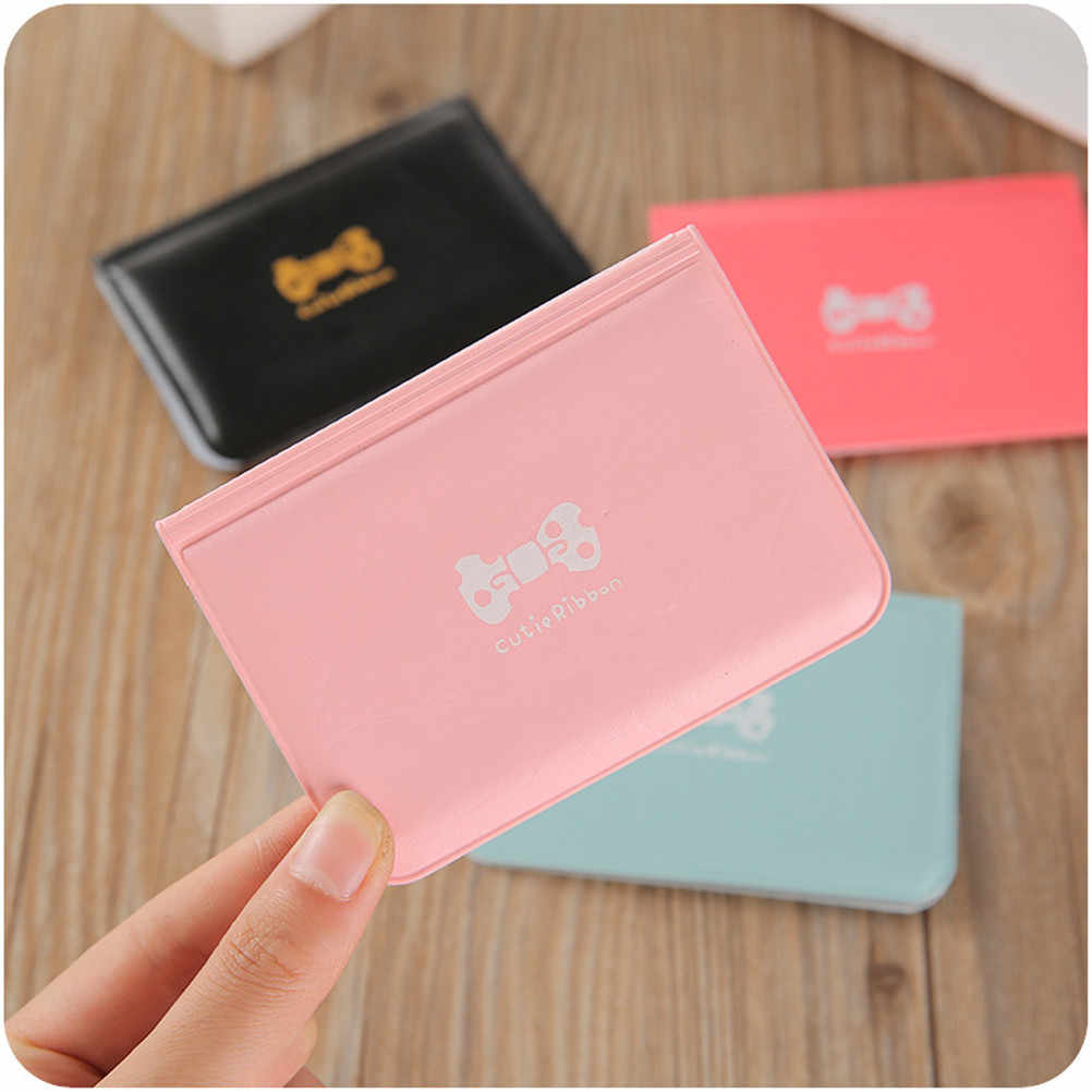 1PCS PU Leather Candy Color on Cover for Car Driving Documents business Card Holder Purse Wallet Case Auto Driver License Bag