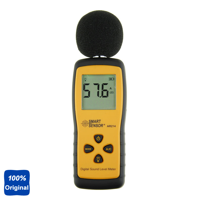 AR214 High Precision Mini-Type Sound Level Meter Noise Tester For Industrial Environmental And Aircraft Noise high quantity medicine detection type blood and marrow test slides