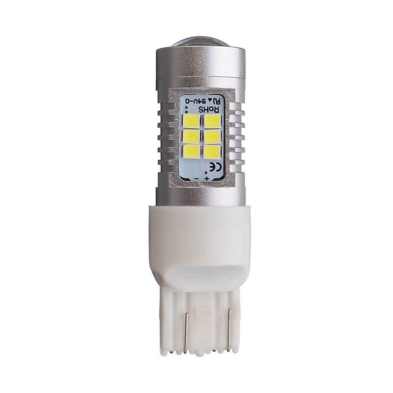 2pcs T20 7443 LED Turn Signal Light High Power 21W 2835 21 SMD Car LED Brake Light Lamp Reverse Light 6500K White 1000LM DC12V