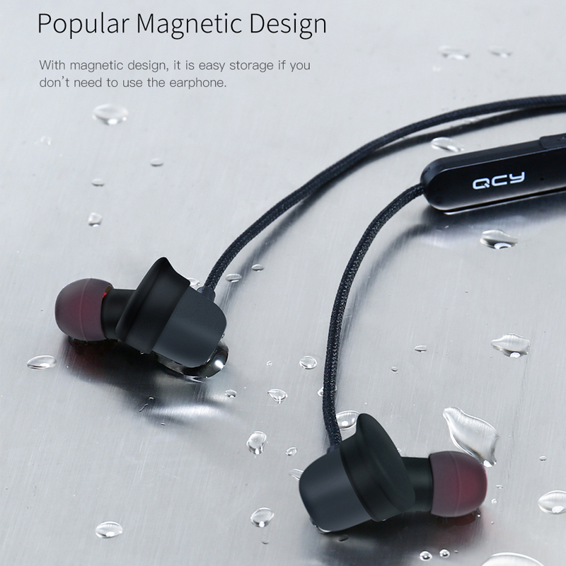 QCY QY20 Bluetooth V4.2 Wireless Earphone IPX5-Rated Sweatproof Sport Headset With Microphone 5