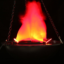 Electronic Simulation fake Flame fire Hanging Lamp Brazier light for church Bar Party Decor Artificial Simulated Hanging basin