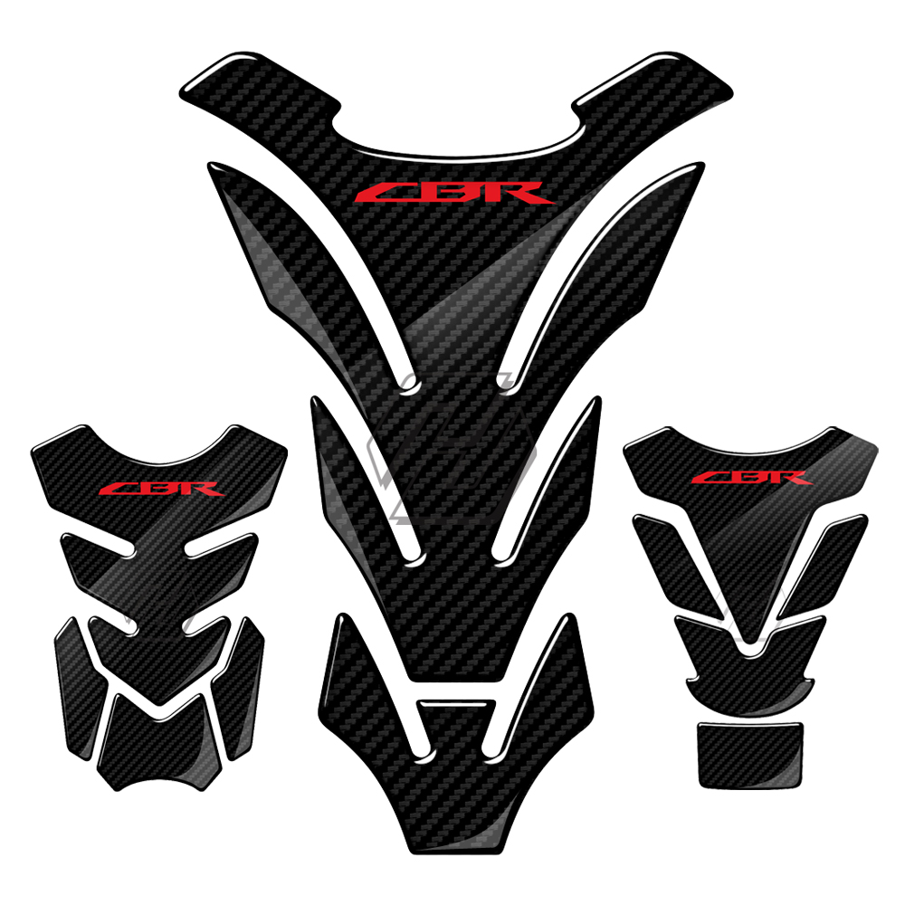 3D Motorcycle Tank Pad Protector Case For Honda CBR600RR CBR900RR CBR1000RR CBR 400 600 900 954 929 1000 RR 1100XX Decals