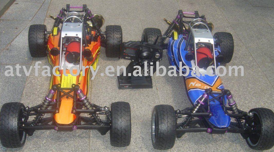 26CC Baja 5B SS + DDM copie de tuyau + sur roue de route + 2.4G contrôle 3 canaux + barre de taureau en acier