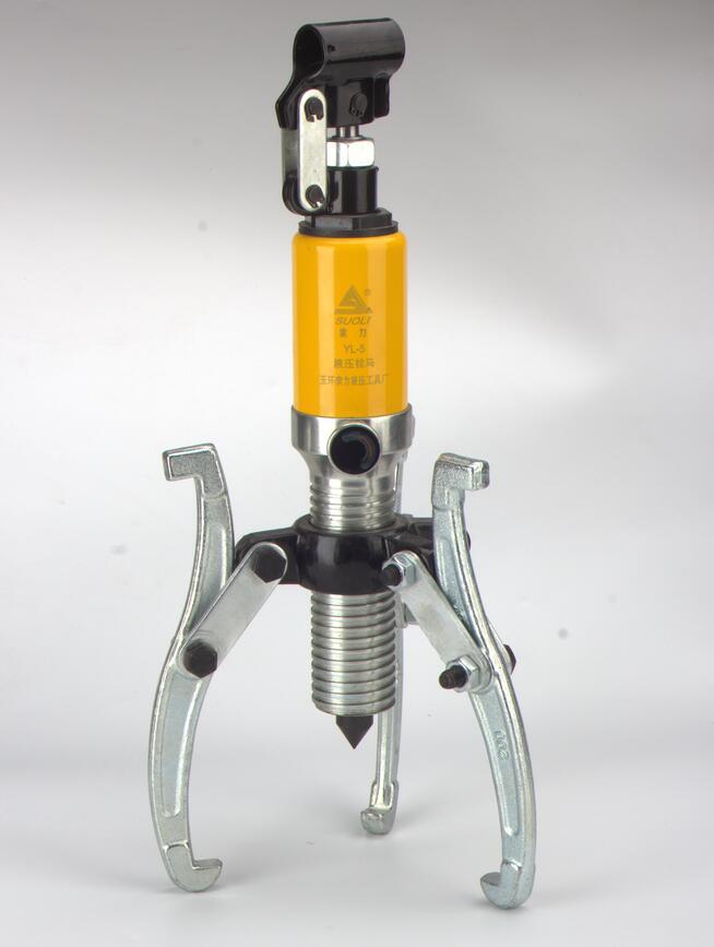 Petit outil de retrait de roulement de Rama hydraulique à 2 broches/3 broches de 10 tonnes pour équipement mécanique, moteurs, enlèvement de fixation