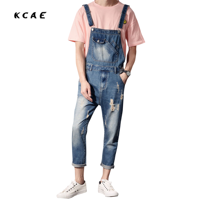 hip hop streetwear swag pants Spring Autumn Fashion mens Slim jean overalls Casual bib jeans for men Male Ripped denim jumpsuit 2017 spring autumn fashion mens skinny jean overalls casual bib jeans for men male ripped denim jumpsuit suspenders bibs 050701