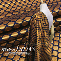 Europe and the new golden jacquard fabric for coat / dress crisp fashion /100cm*140cm