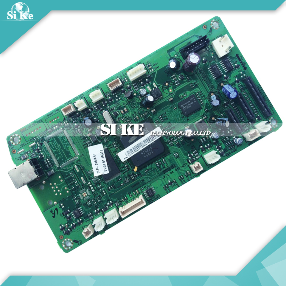 Laser Printer Main Board For Samsung CLP-315 CLP-325 CLP-326 CLP 315 325 326 CLP315 Formatter Board Mainboard Logic Board printer power board for samsung clp 320 clp 321n clp 321 clp 325 clp 326 clp 326w clp 320 321 325 326 power supply board on sale
