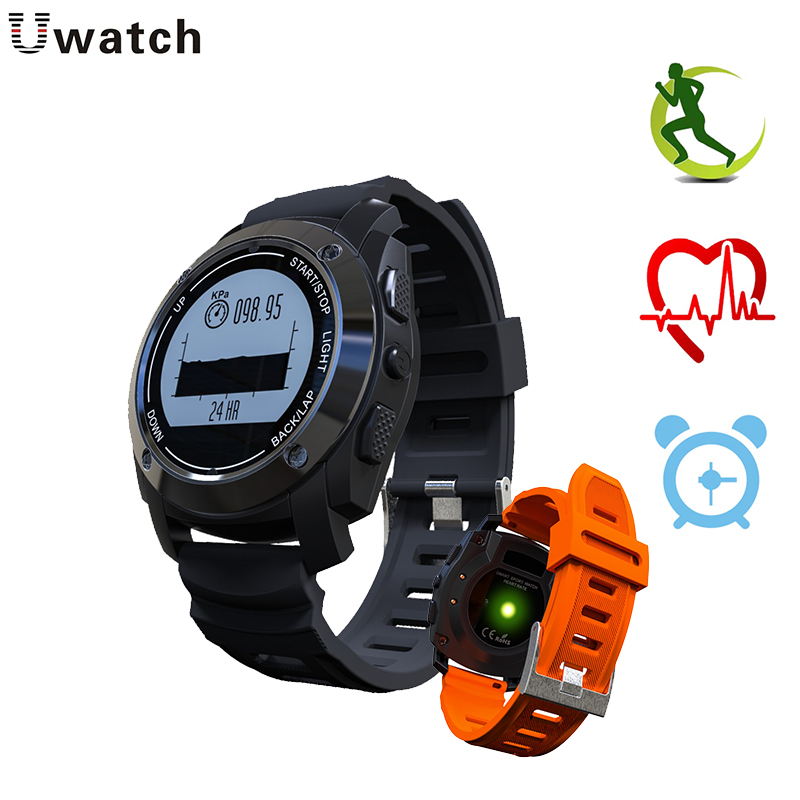 S928 Smart Watch GPS Fitness Bracelet Heart Rate Monitor Air Pressure Temperature Speed Adult Outdoor Sports Watches ezon gps hrm heart rate monitor sports hiking training fitness watch calories pedometer bluetooth 4 0 smart sports watch t033
