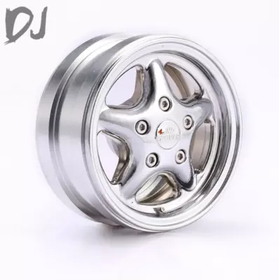 DJ 1.9 CNC metal wheel hub for Traxxas Trx 4 RC4WD D90 D110 Disco Freestyle SCX10