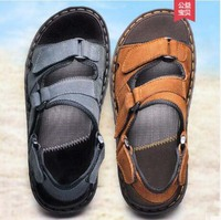 Fashion New Mens Sandals Casual Flats Shoes Summer Slippers Man Size 45 46 men0017