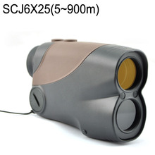 Visionking 6X25CJ LCD Indicator Display Telescope Bak4 Full Muti Coated 900m Range Finder For Golf Hunting