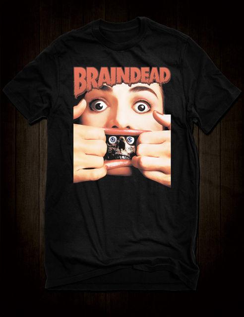 New Black Braindead Cult Horror Comedy T Shirt Peter Jackson Film