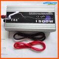 Alta qualidade 1500 w 1500 W watt Pure Sine Wave Power Inverter conversor 12 v DC para 220 V AC Carro inversor de potência de Pico 3000 w