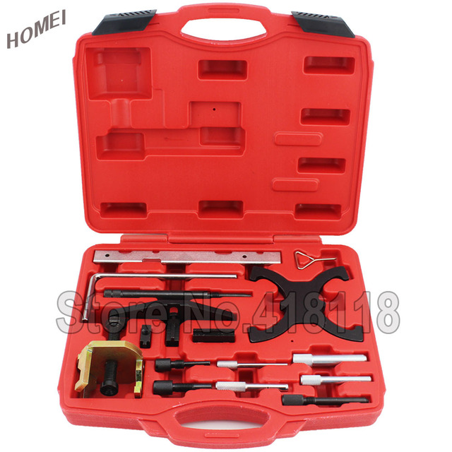 Engine Setting/Locking Combination Kit MASTER ENGINE TIMING TOOL SET FITS For FORD 1.4 1.6 Ti VCT TDCi 1.8 2.0 16V 2.2 TDCi