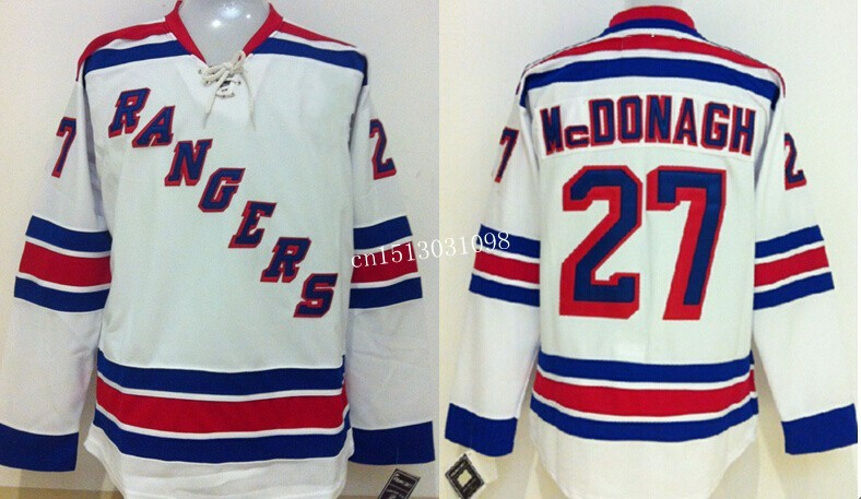premium selection 0dadd 7cfc4 Cheap sell New York Rangers Jerseys #27 Ryan McDonagh Ice ...