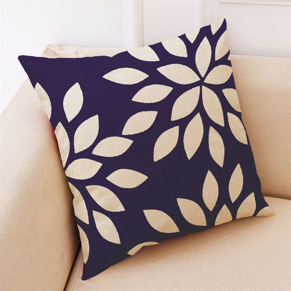 Image 4 - 2018 Fashion Pillow Cover 45*45cm Sofa Bed Home Decor Cushion Cover Simple Geometric Multicolor Comfortable Throw Pillowcover-in Cushion Cover from Home & Garden