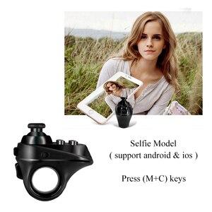 Image 3 - Draadloze Bluetooth Vinger Game Controller Handvat Adapter Muis Selfies Schakelaar Pagina S Functie Ondersteuning Android Ios Systeem